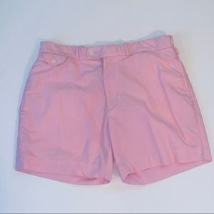 Polo size 36 pink mens casual walking shorts
